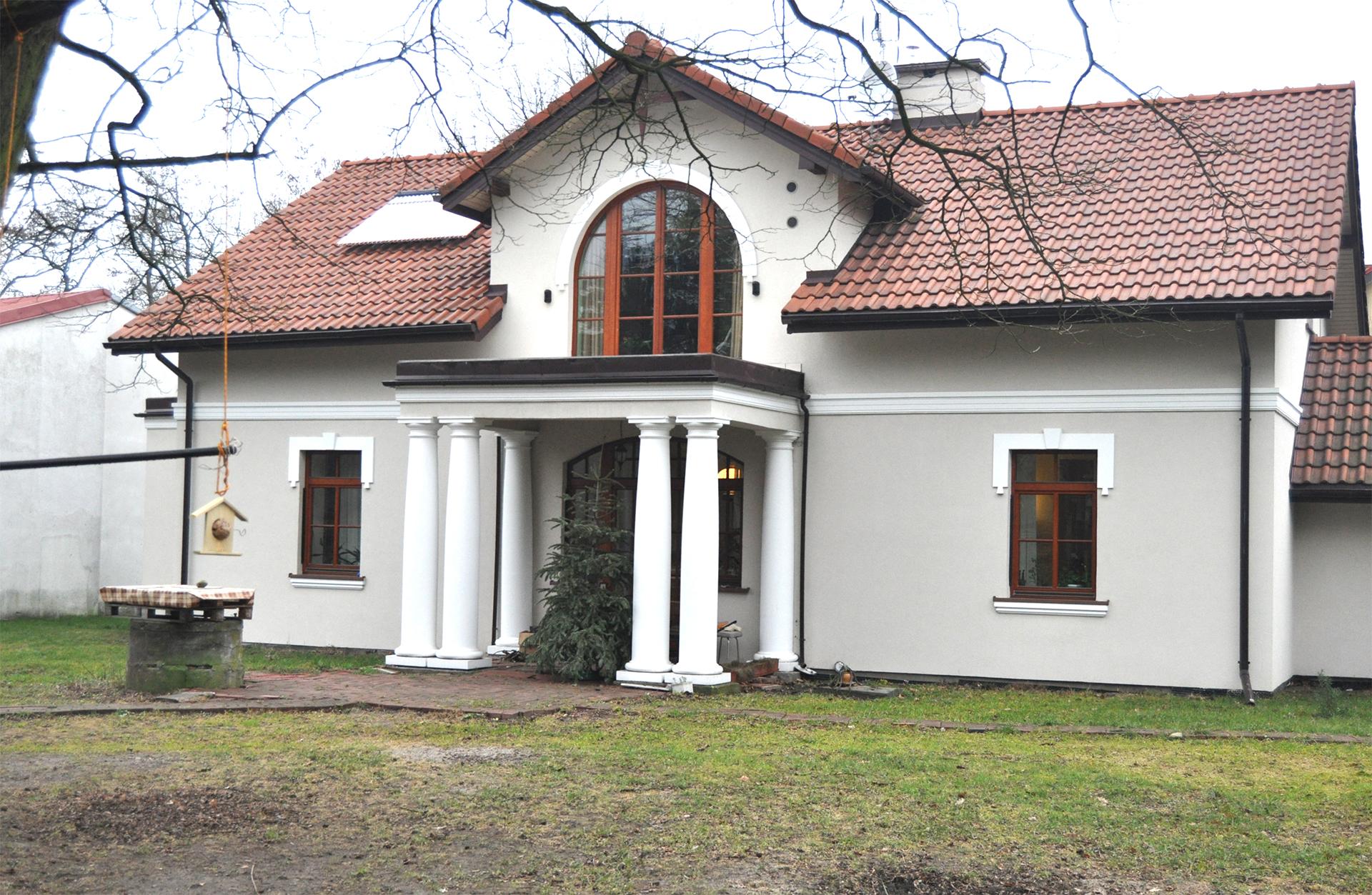 Docieplenie budynku w dużym domu